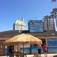 """Photo taken at Alfredo's Beach Club's """"Moonlight Movies On The Beach"""" On The Marina Green by Rich V. on 5/23/2015"""