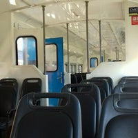 Photo taken at Estación Merlo [Línea Sarmiento] by Fernando V. on 10/29/2016
