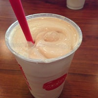 Photo taken at MOOYAH Burgers, Fries & Shakes by Andrew N. on 10/5/2012