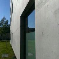 Photo taken at Folkwang-Universität - SANAA-Gebäude by Björn K. on 5/9/2016