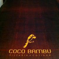 Photo taken at Coco Bambu Pizzaria & Cozinha by Vitor M. on 2/26/2013