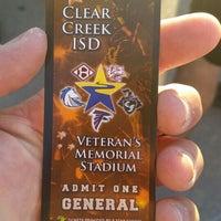 Photo taken at Veterans Memorial Stadium by Greg G. on 10/2/2015