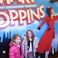 Photo taken at Disney's MARY POPPINS at the New Amsterdam Theatre by Jennifer C. on 2/16/2013