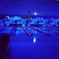 Photo taken at Cosmic Bowl by Elly G. on 12/25/2012