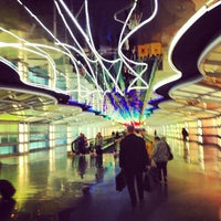 Photo taken at 'The Sky's The Limit' Underground Walkway by Neftali R. on 1/3/2013