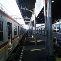 Photo taken at Stasiun Bogor by nekov.com on 2/28/2013