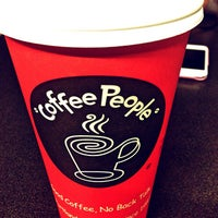 Photo taken at Coffee People by Ally S. on 6/13/2013