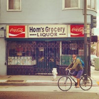 Photo taken at Hom's Grocery & Liquor by Noah F. on 9/7/2014