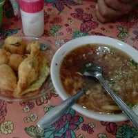 Photo taken at Soto ayam 61 by Ika A. on 2/1/2014