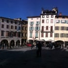 Photo taken at Place San Iacum by Nicola A. on 12/29/2012