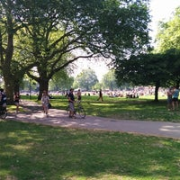 Photo taken at London Fields by Linda S. on 5/18/2014