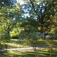 Photo taken at Marcus Garvey Park by Marvin W. on 10/30/2015