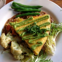 Photo taken at Angelica Kitchen by David N. on 3/9/2013