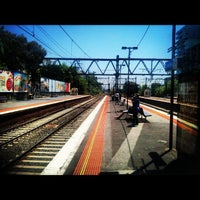 Photo taken at South Yarra Station by Brenton-Nicholas K. on 11/28/2012
