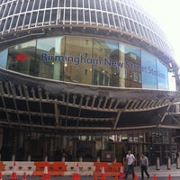 Photo taken at Birmingham New Street Railway Station (BHM) by James Arthur C. on 5/5/2013