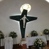 Photo taken at Parroquia Sta. María Madre de la Misericordia by Irma R. on 5/5/2013