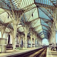 Photo taken at Estação Ferroviária da Gare do Oriente by Andre R. on 3/18/2013