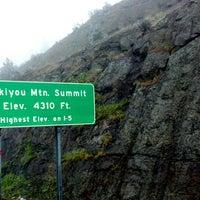 Photo taken at Siskiyou Summit by David A. H. on 5/23/2013