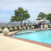 Photo taken at Hudson Club Pool by Chris T. on 7/13/2013