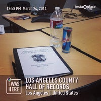 Photo taken at Los Angeles County Hall of Records by Tolitz R. on 3/24/2014