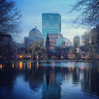 Photo taken at Boston Public Garden by Chris F. on 4/8/2013