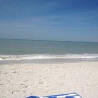 Photo taken at Vanderbilt Beach by Philip R. on 3/15/2013