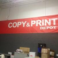 Photo taken at Office Depot by Kara H. on 9/1/2013