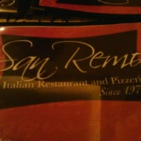 Photo taken at San Remo Italian Restaurant by Carlos D. on 3/10/2013