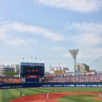 Photo taken at Yokohama Stadium by active_co on 6/29/2013