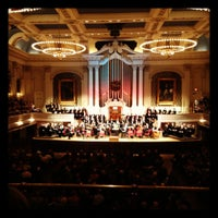 Photo taken at Mechanics Hall by Emily R. on 12/2/2012