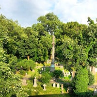 Photo taken at Trinity Church Cemetery & Mausoleum by Brian O. on 7/10/2013