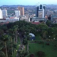 Photo taken at Sheraton Kampala Hotel by Shedi D. on 4/18/2015
