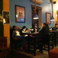 Photo taken at Puku Café & Sports Bar by Birdie L. on 11/1/2012