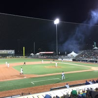 Photo taken at PK Park by Taylor P. on 9/13/2016