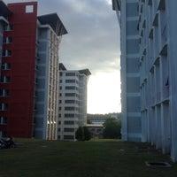 Photo taken at Gmi A2 Hostel Building by Aizat J. on 1/10/2016