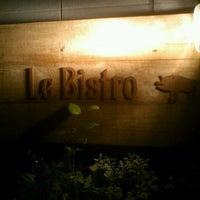 Photo taken at LE BISTRO by eigo on 12/15/2012