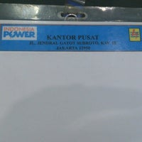Photo taken at PT Indonesia Power Kantor Pusat by ian a. on 4/23/2014