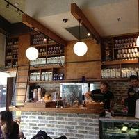 Photo taken at Landwer Café by Maoz S. on 1/11/2013