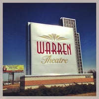 Photo taken at Warren Theatre by Robert T. on 2/14/2013