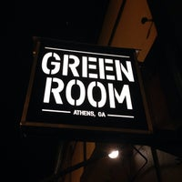 Photo taken at Green Room Athens by Wesley C. on 2/7/2014