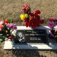 Photo taken at Clovis Cemetary by 🙈🙉🙊Michelle C. on 2/3/2013