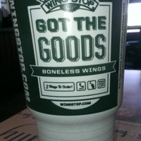Photo taken at Wingstop by Charles G. on 6/13/2013