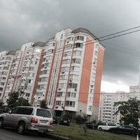 Photo taken at Микрорайон «Кожухово» by Nathalie🌷 on 6/12/2016
