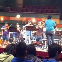 Photo taken at Performing Arts Center (PAC) by Jennifer Ann G. on 2/5/2013
