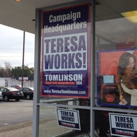 Photo taken at Teresa Tomlinson Campaign HQ by Ilene K. on 3/1/2014