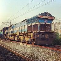 Photo taken at Begumpet Railway Station by Kalidas C. on 10/27/2012
