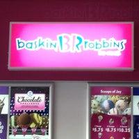 Photo taken at Baskin Robbins by Jeffrey H. on 10/17/2012