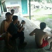 Photo taken at Tirta Wiguna Swimming Pool by Apriyanto A. on 6/15/2013