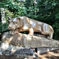 Photo taken at Nittany Lion Shrine by Sean N. on 9/14/2012