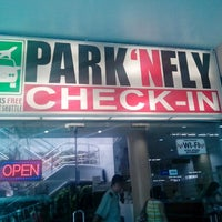 Photo taken at Park 'N Fly by Joanne R. on 10/1/2012